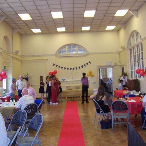An event in the hall