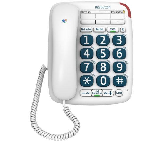 Large print phone